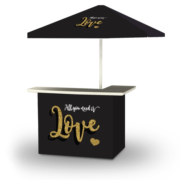 Woliung Valentines All You Need Is Love 2-Piece Home Bar Set by East Urban Home