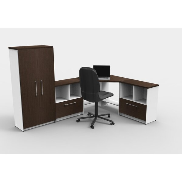 Liveva Executive Desk with Hutch