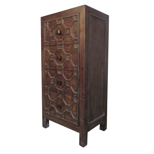 Cher 4 Drawer Chest by House of Hampton