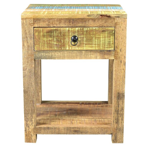 Natascha End Table by Highland Dunes