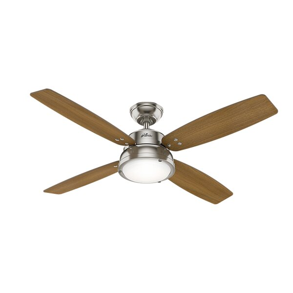 52 Wingate 4 Blade LED Ceiling Fan with Remote by Hunter Fan