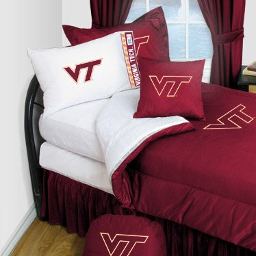 Virginia Tech Comforter by Sports Coverage Inc.