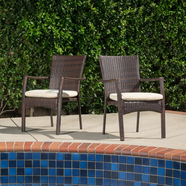 Brandon Arm Chair (Set of 2) by Beachcrest Home Beachcrest Home