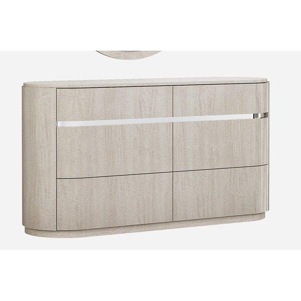 Gann 6 Double Drawer Dresser by Orren Ellis