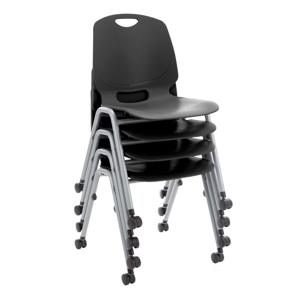 Academic Mobile 17.75 Plastic Classroom Chair (Set of 4) by Learniture