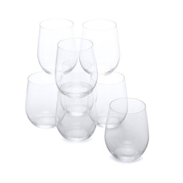 O Crystal 21.1 oz. White Wine Glass (Set of 8) by Riedel