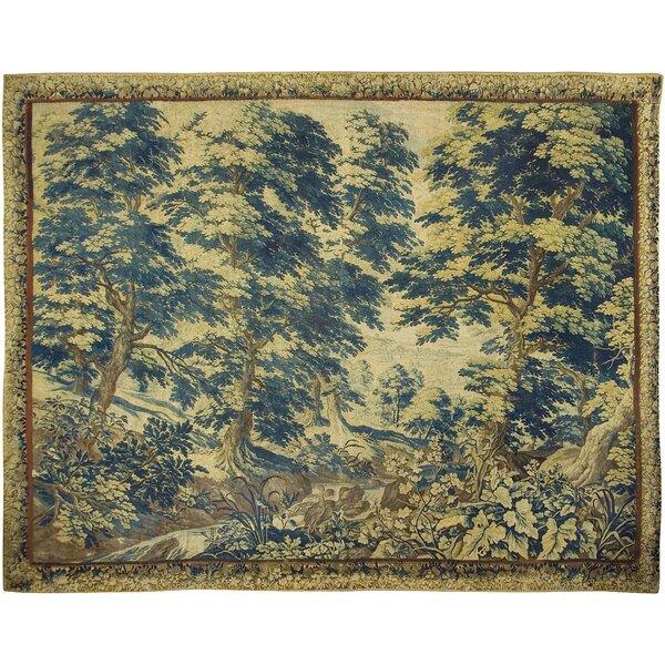 Antique Flemish Verdure Tapestry, circa 1720 9'6 x 12'2 wide