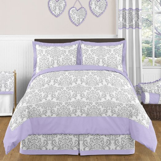 Elizabeth 4 Piece Twin Comforter Set by Sweet Jojo Designs