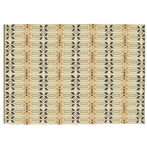 Tahnaout Brick Hand-Woven Indoor/Outdoor Area Rug by World Menagerie