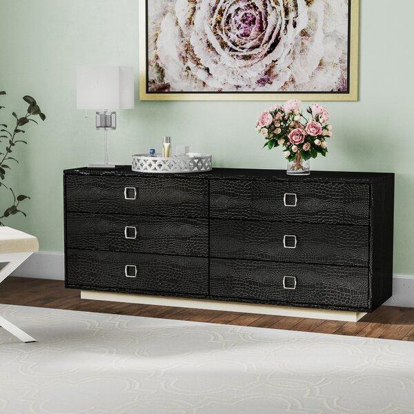 Jolicia 6 Drawer Double Dresser by Willa Arlo Interiors