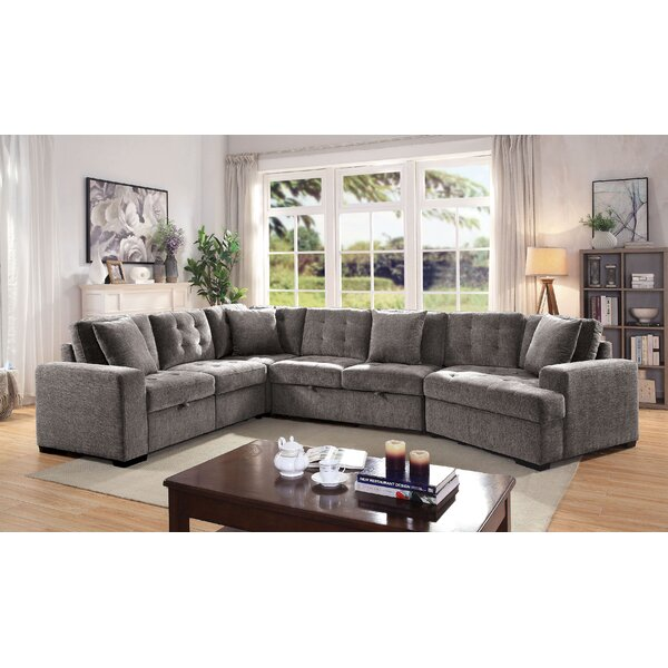 Wilbrecht Left Hand Facing Modular Sectional By Latitude Run