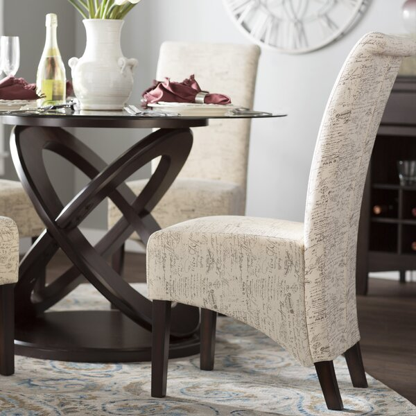 Chelvey Upholstered Dining Chair (Set of 2) by Charlton Home Charlton Home