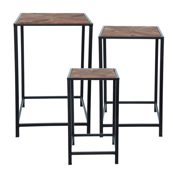 Review Derrill 3 Piece Nesting Tables