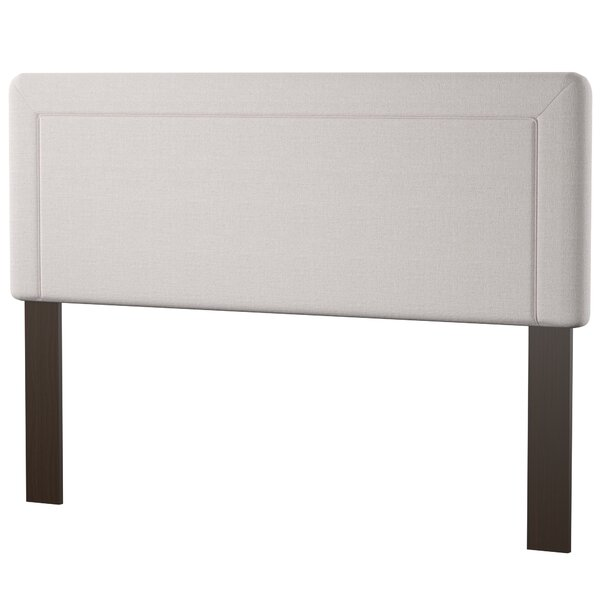 Maselli Border Upholstered Panel Headboard by Mercury Row