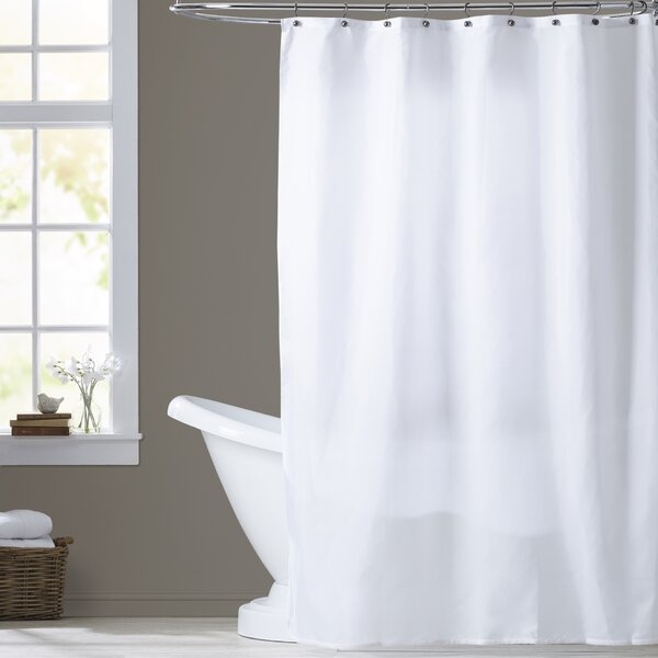 Berning Nylon Shower Curtain Liner by Three Posts