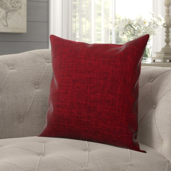 Criss Cotton Blend Pillow Cover (Set of 2) by August Grove