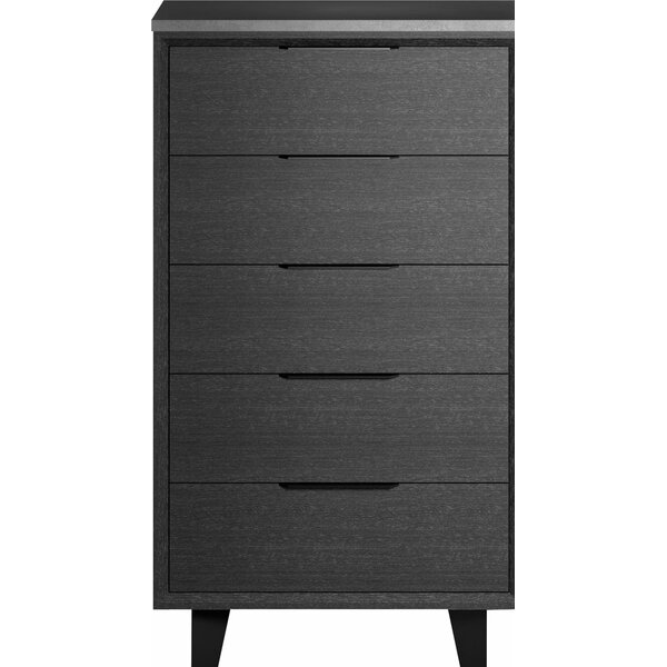 Salaam 5 Drawer Chest By Orren Ellis by Orren Ellis New Design