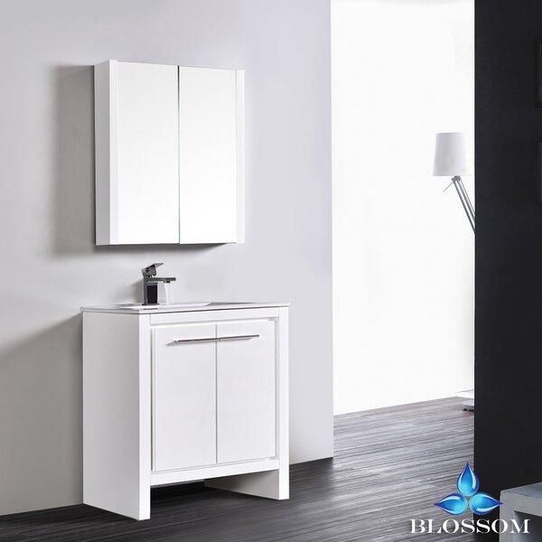 Artemis 29 Single Bathroom Vanity Set with Mirror by Ivy Bronx
