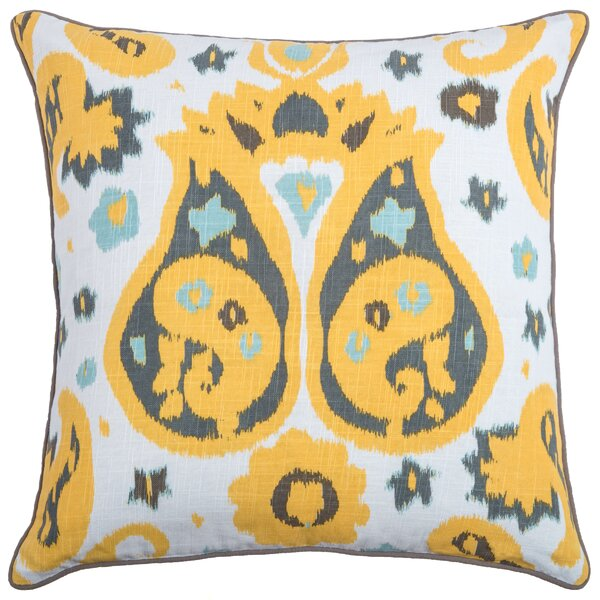 Chasa Dee  Cotton Throw Pillow by Wildon Home ®