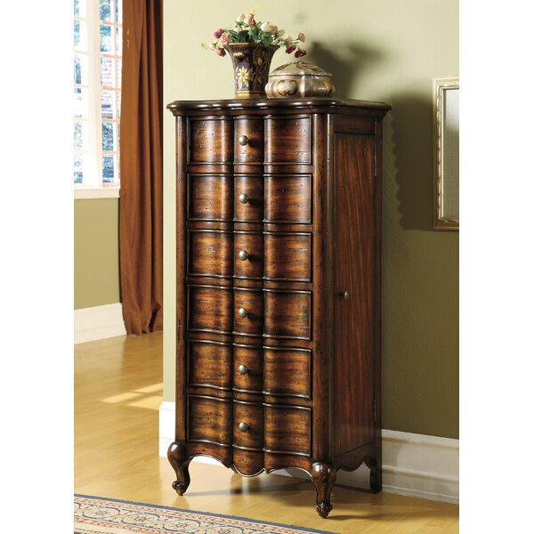 French Jewelry Armoire by Hooker Furniture
