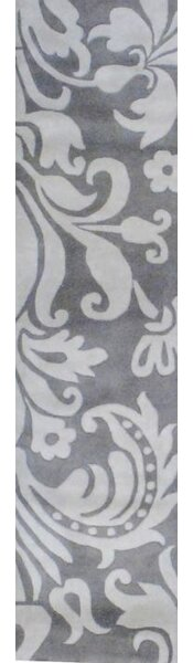Hand-Tufted Gray/Beige Area Rug by Herat Oriental