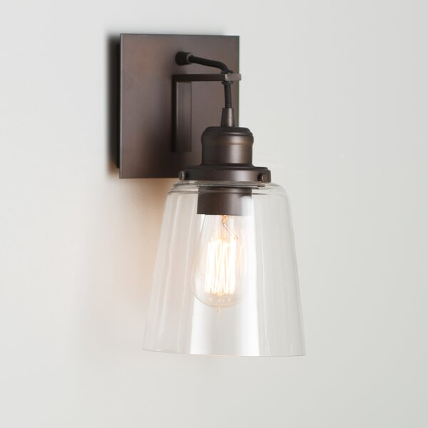 Suspenders® 1-Light Armed Sconce by Trent Austin Design