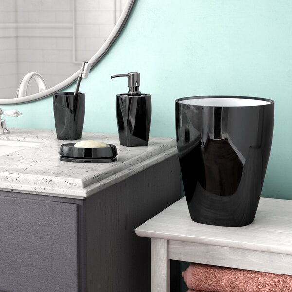 Cevallos 4-Piece Bathroom Accessory Set by Latitude Run