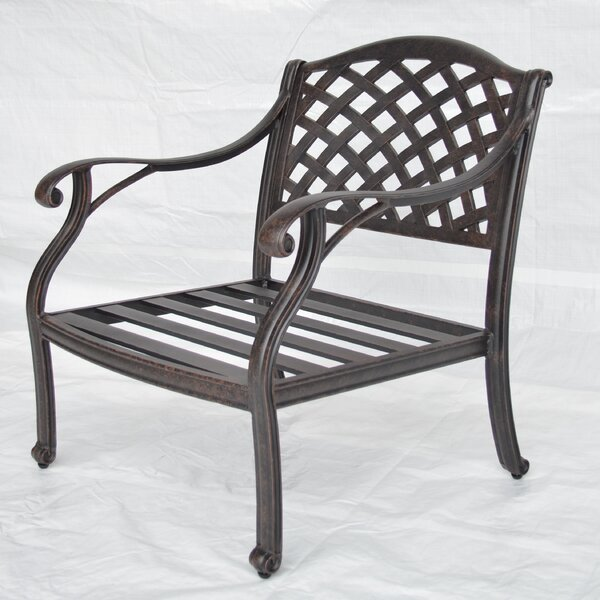 Nola Club Chair by Darby Home Co Darby Home Co