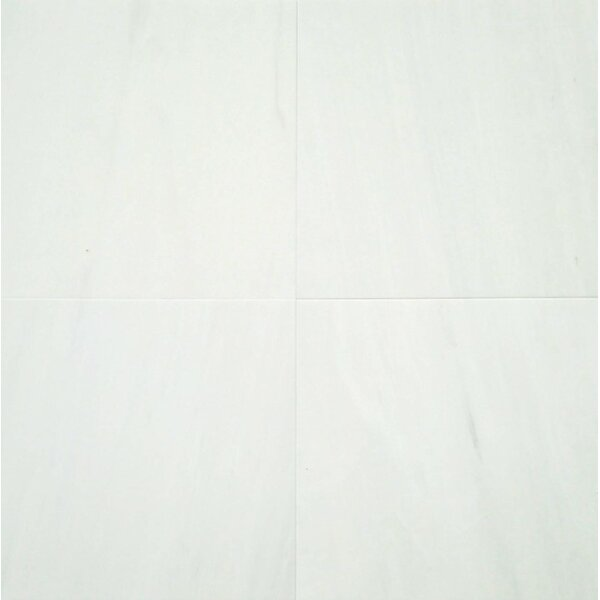 6 x 12 Marble Field Tile in Bianco Venato by Ephesus Stones