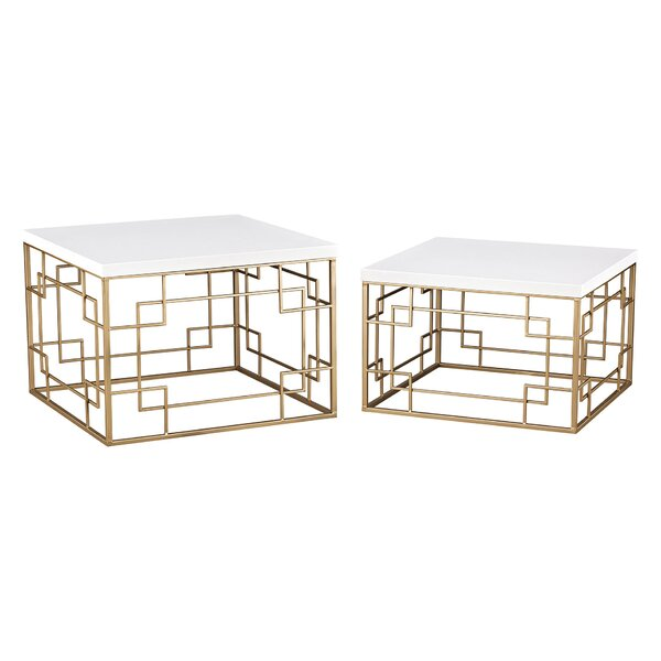 Weatherly 2 Piece Nesting Tables by Mercer41