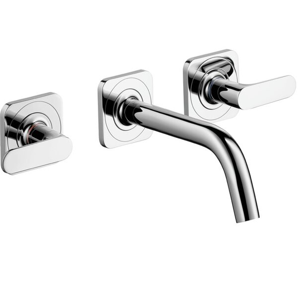 Axor Citterio M Wall Mounted Widespread Faucet by
