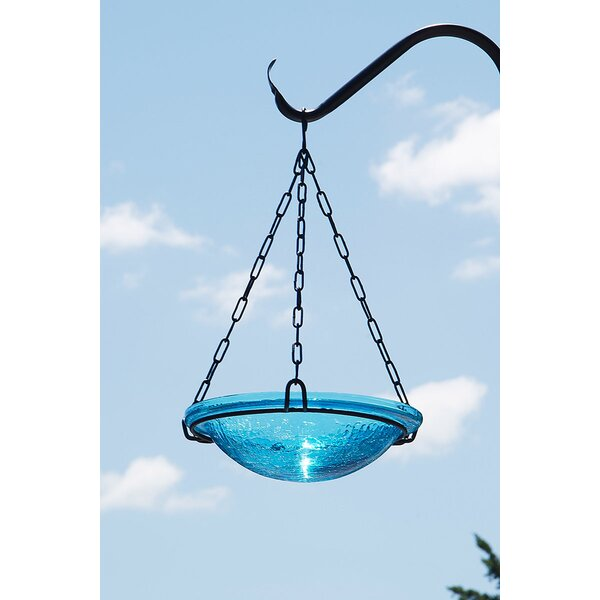 Crackle Hanging Birdbath by ACHLA