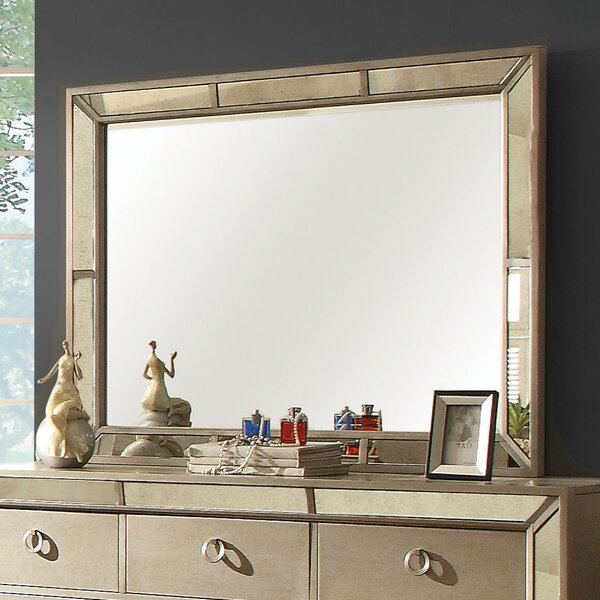 Ligia Rectangular Dresser Mirror by Willa Arlo Interiors