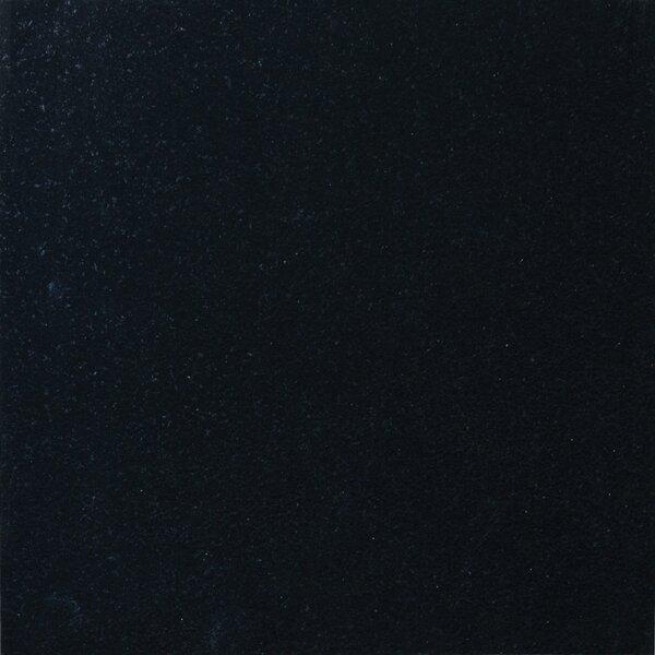 18 x 18 Granite Field Tile in Black by MSI