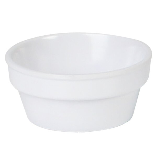 Nustone Round Melamine 2.5 Oz. Ramekin (Set of 12) by Thunder Group Inc.