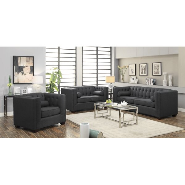 McDougal Configurable Living Room Set by Three Posts