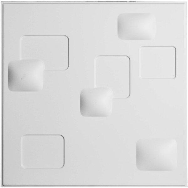 Avila 19.63 x 19.63 Mosaic Tile in White by Ekena Millwork