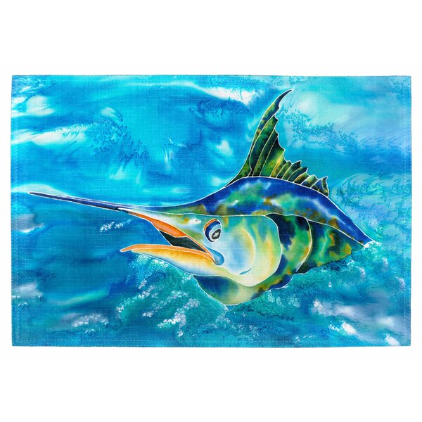 Splash the Marlin Placemat (Set of 2) by Live Free