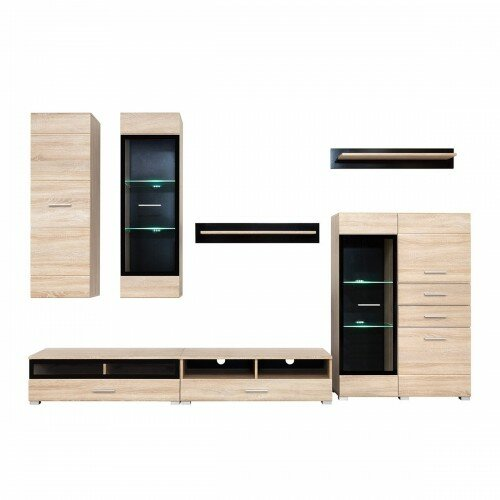 Lewis Entertainment Center by Orren Ellis