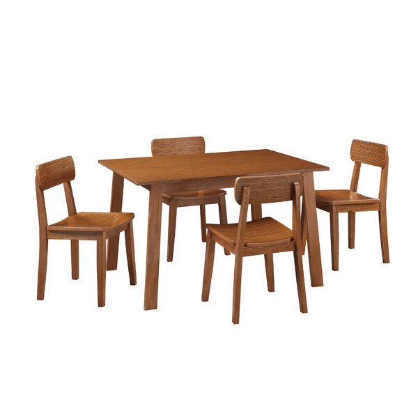 Quezada 5 Piece Dining Set by George Oliver George Oliver