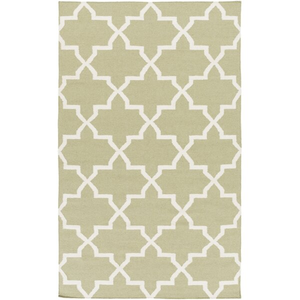 Bangor Sage Geometric Area Rug by Ebern Designs