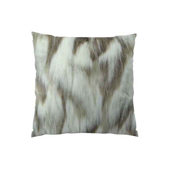 Bessey Handmade Faux Throw Pillow by Foundry Select