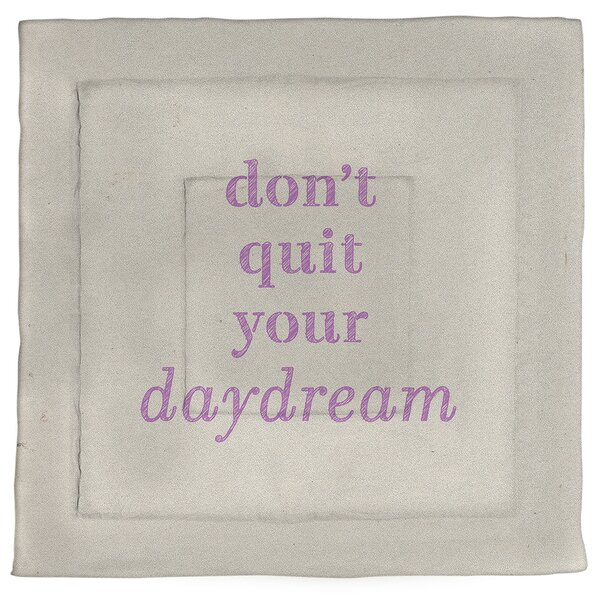 Don't Quit Your Daydream Single ReversibleComforter