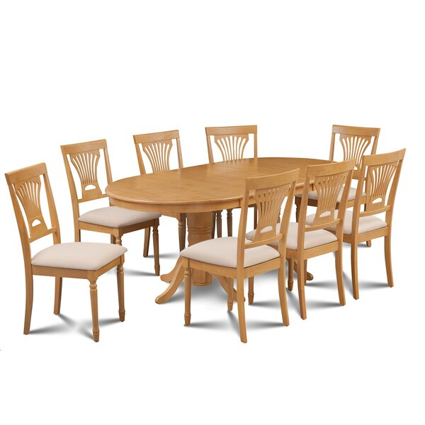 Inwood 9 Piece Extendable Dining Set by Darby Home Co