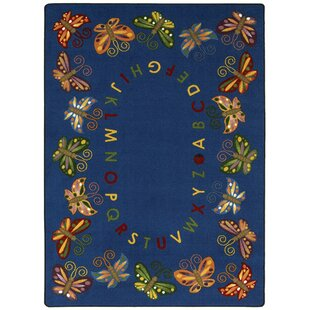 Affordable Butterfly Delight Area Rug By The Conestoga Trading Co.