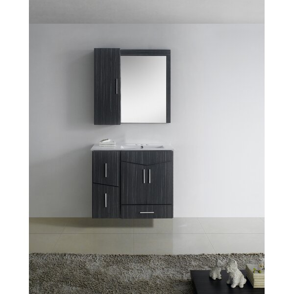 Keels 36 Wood Single Bathroom Vanity Set by Orren Ellis