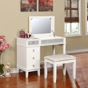 vanity table. Ritch Vanity Set With Mirror Table I