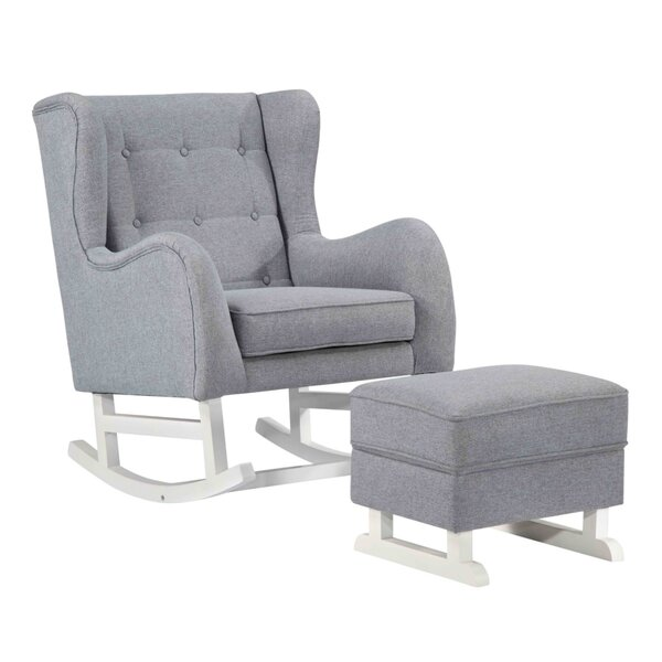 Colville Lounge Chair and Ottoman by Harriet Bee