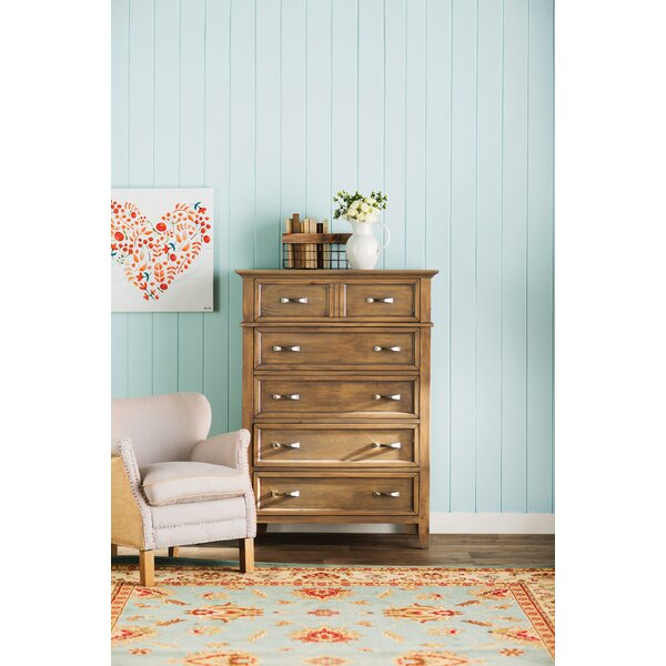 Cartwright 6 Drawer Chest by Rosecliff Heights