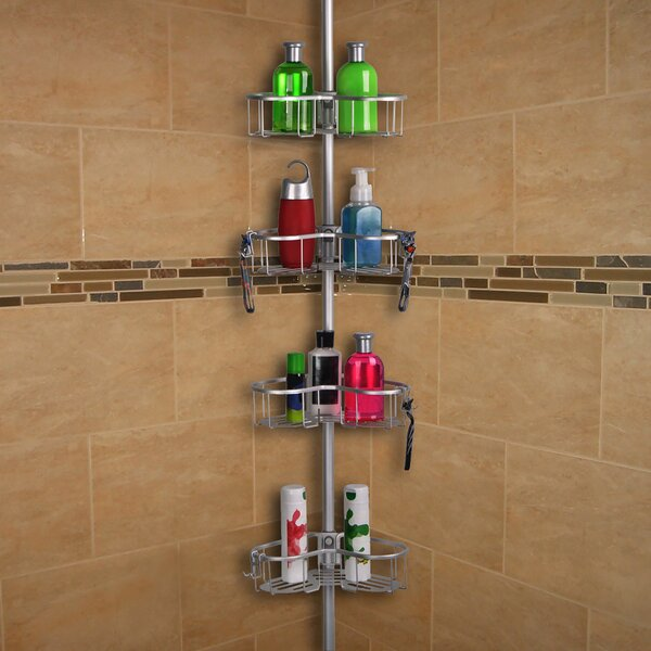 Tension Rustproof Shower Caddy by Utopia Alley